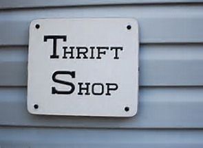 thrift Shop Sign