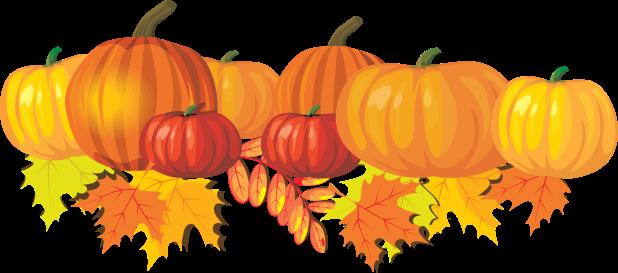 fall pumpkin banner